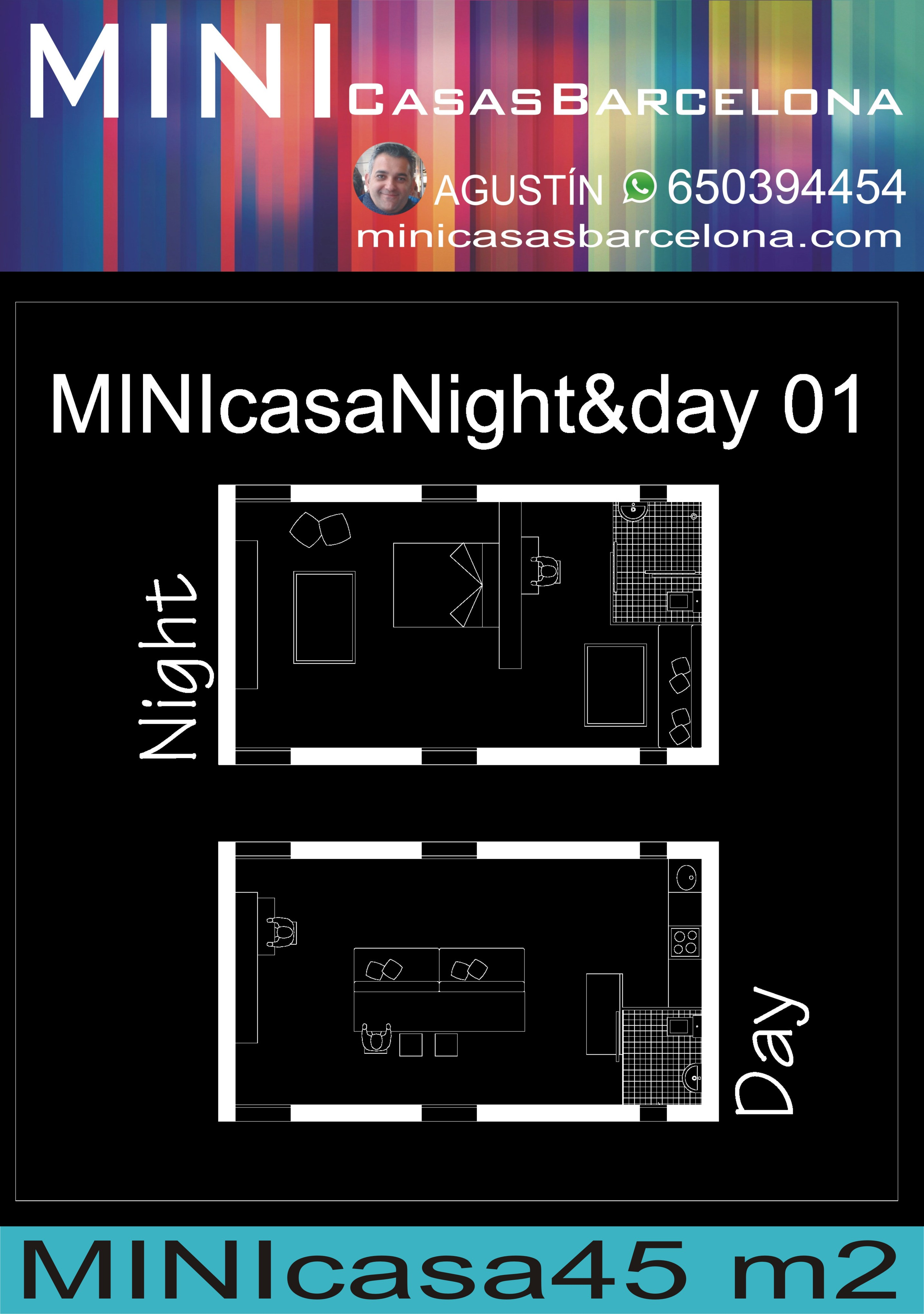 MINIcasaBarcelona.com Agustín Góngora Night&Day